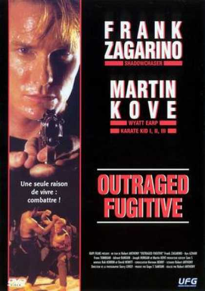 French DVDs - Outraged Fugitive