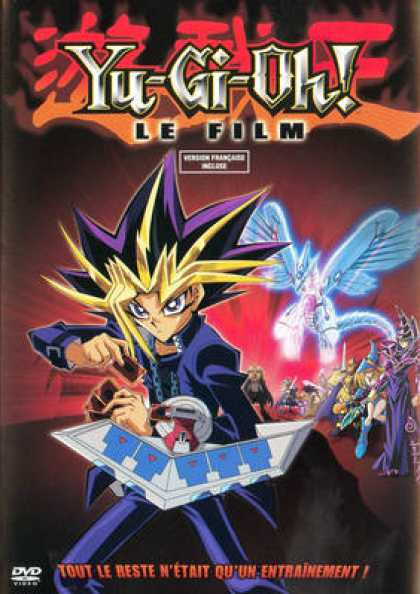 French DVDs - Yu Gi Oh The Film