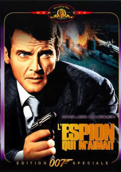 French DVDs - 007 James Bond - The Spy Who Loved Me