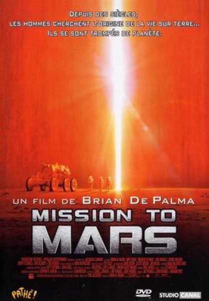 French DVDs - Mission To Mars