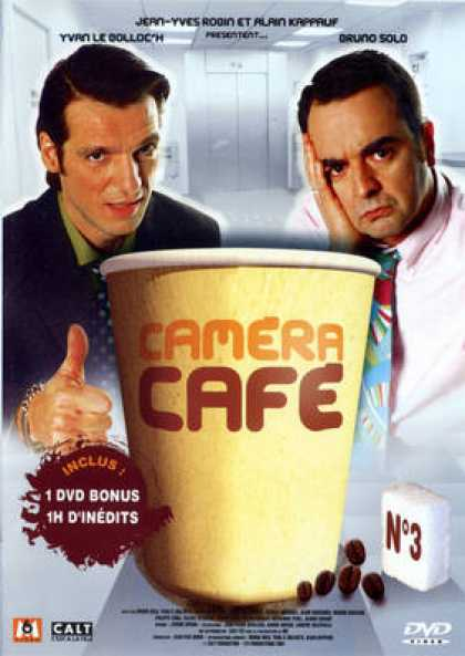 French DVDs - Camera Cafe Vol 3