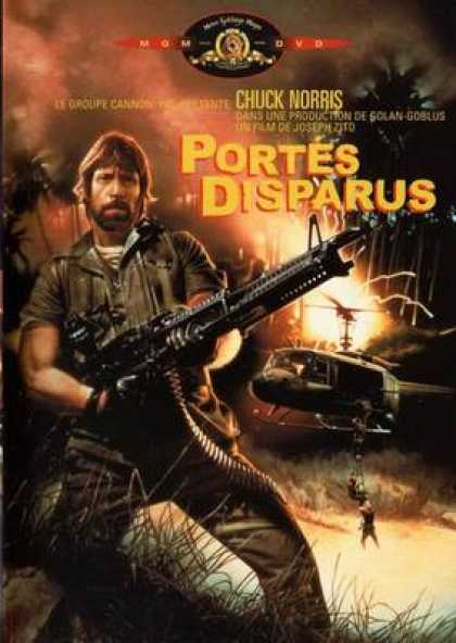 French DVDs - Missing In Action