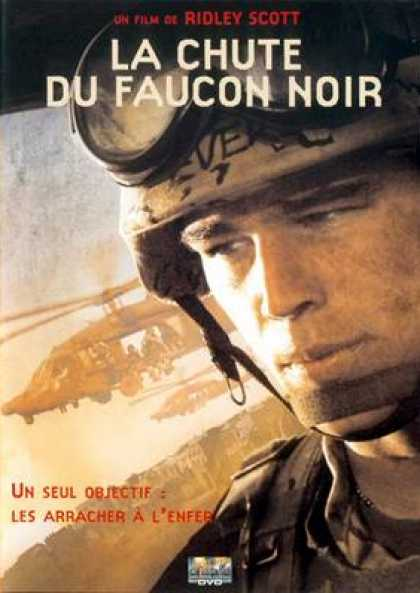 French DVDs - Black Hawk Down Special