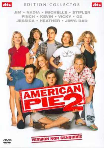 French DVDs - American Pie 2