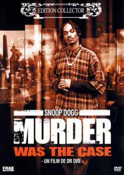French DVDs - Murder Was The Case