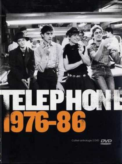 French DVDs - Telephone 1976 - 86