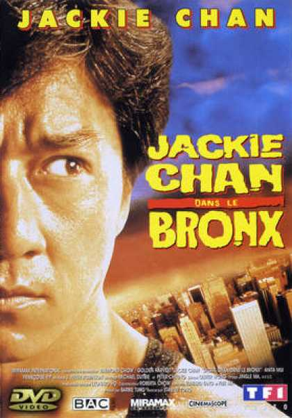 French DVDs - Jackie Chan Rumble In The Bronx