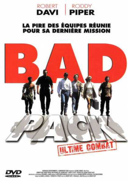 French DVDs - Bad Pack
