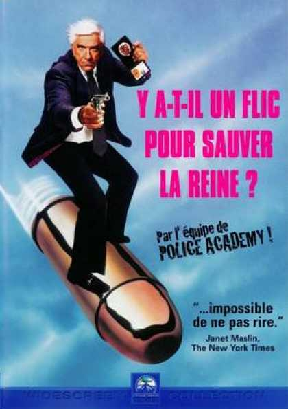 French DVDs - The Naked Gun
