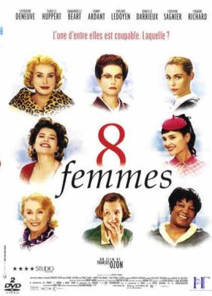 French DVDs - 8 Femmes