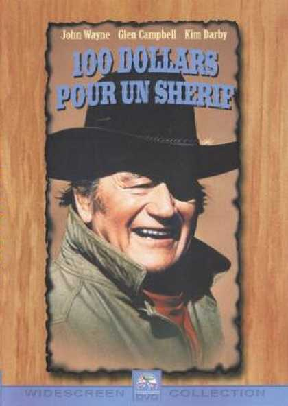 French DVDs - 100 Dollars For A Sheriff
