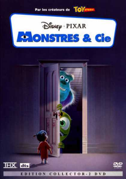 French DVDs - Monsters Inc. CE