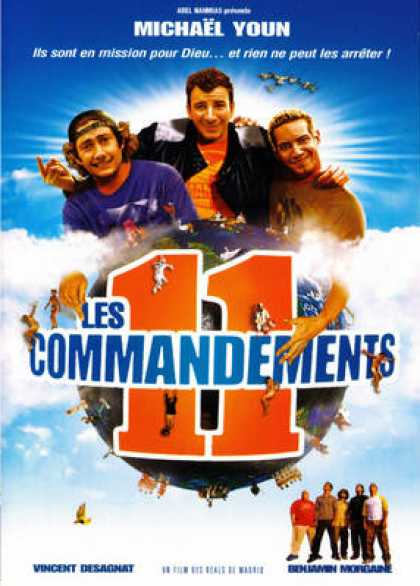 French DVDs - The 11 Commandements
