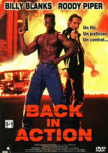French DVDs - Back In Action