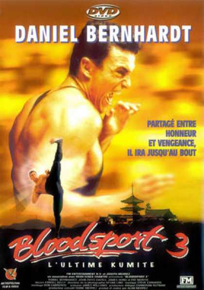 French DVDs - Bloodsport 3