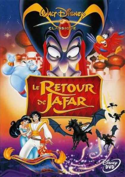 French DVDs - Aladdin The Return Of Jafar