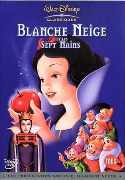 French DVDs - Snow White And The Seven Dwarfs