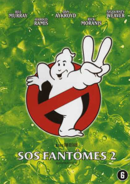 French DVDs - Ghostbusters 2