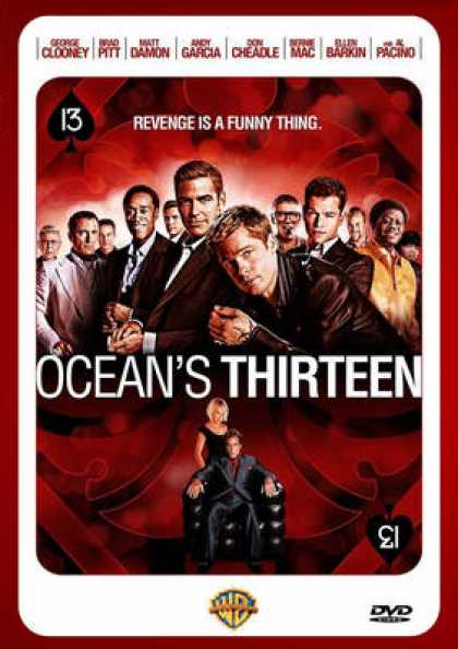 French DVDs - Ocean's Thirteen