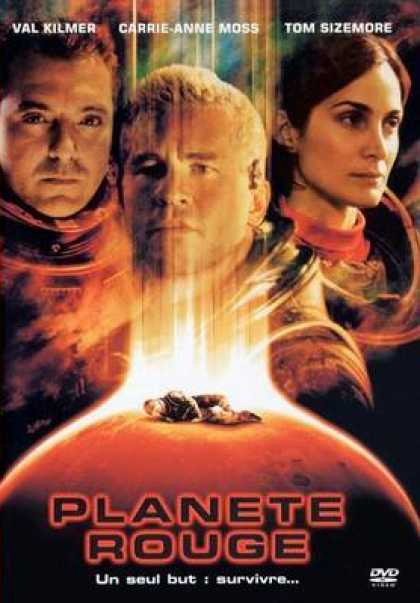 French DVDs - Red Planet