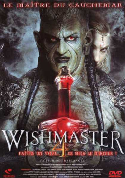 French DVDs - Wishmaster 4