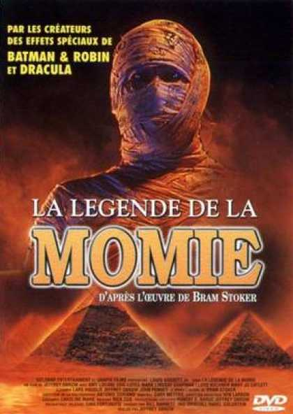 French DVDs - The Legend Of The Mummy
