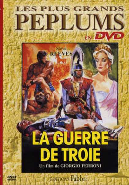 French DVDs - La Guerre De Troie