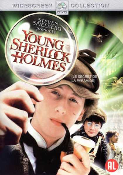 French DVDs - Young Sherlock Holmes