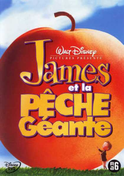 French DVDs - James Et La Peche Geante