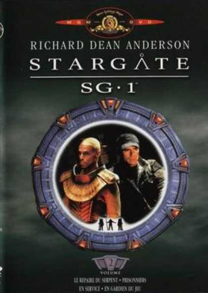 French DVDs - Stargate Sg 1 Vol 2