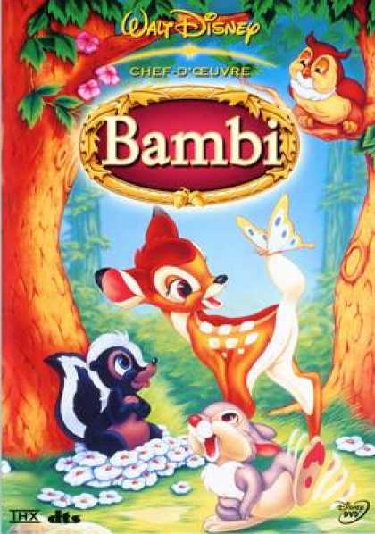 French DVDs - Bambi