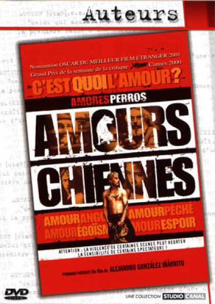 French DVDs - Amours Chiennes