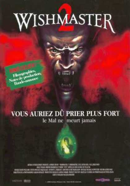 French DVDs - Wishmaster 2