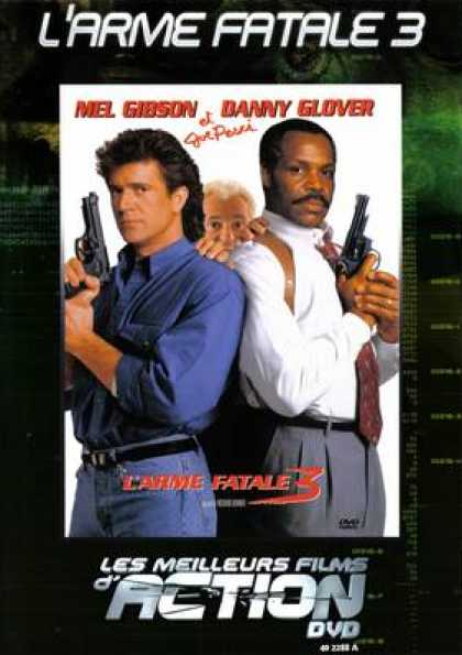 French DVDs - Lethal Weapon 3