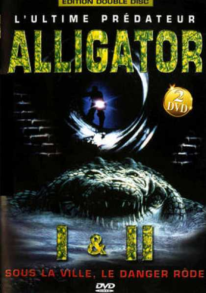 French DVDs - Alligator 1 & 2
