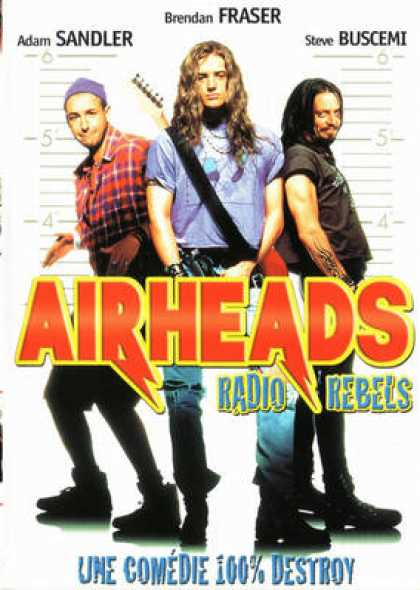 French DVDs - Airheads Radio Rebels
