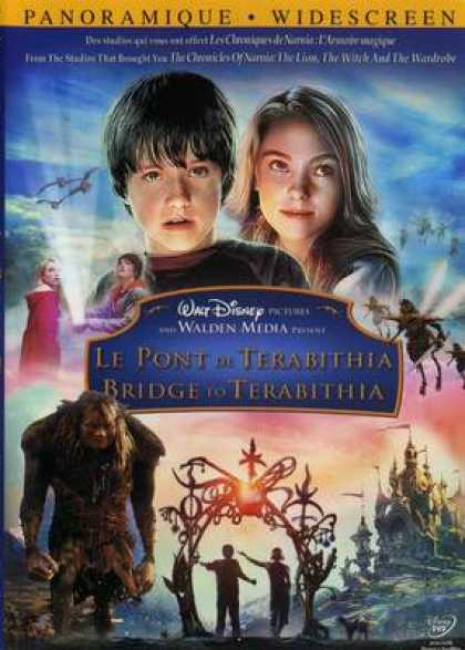 French DVDs - Bridge To Terabithia