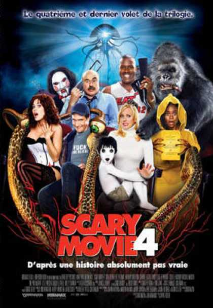 French DVDs - Scary Movie 4