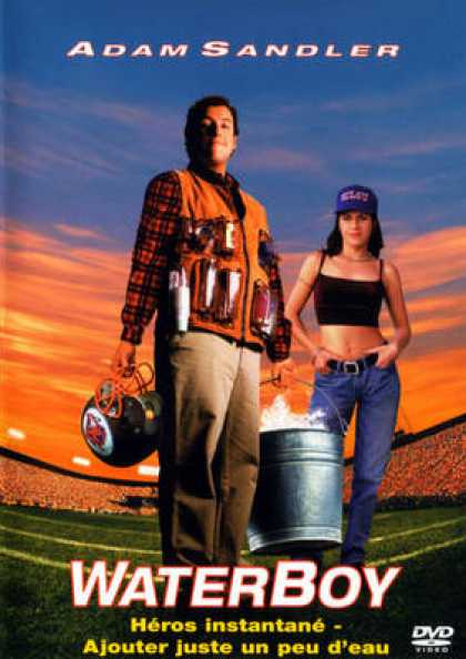 French DVDs - Waterboy