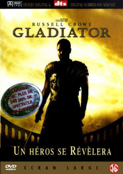 French DVDs - Gladiator