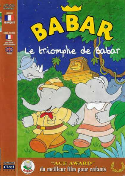 French DVDs - Babar Le Triomphe De Babar