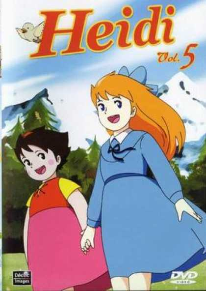 French DVDs - Heidi Vol 5