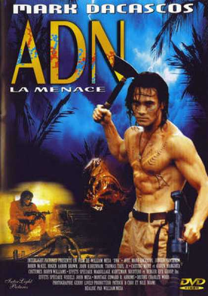 French DVDs - ADN La Menace