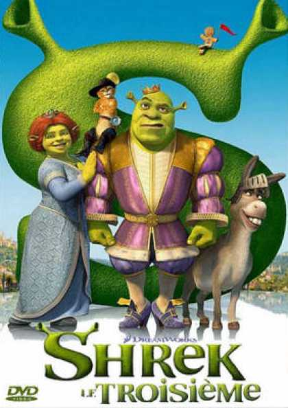French DVDs - Shrek The Third