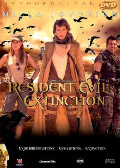 French DVDs - Resident Evil Extinction