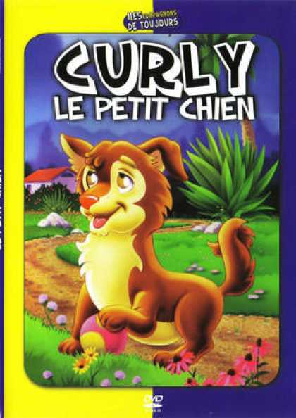 French DVDs - Curly Le Petit Chien