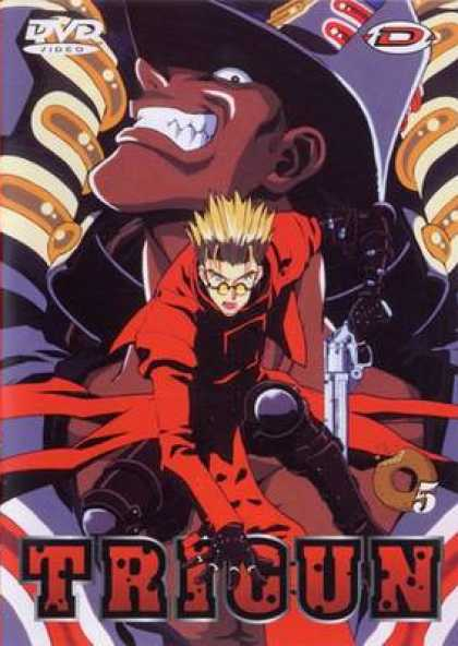 French DVDs - Trigun: Volume 5