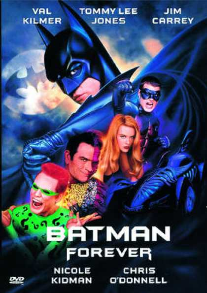 French DVDs - Batman Forever