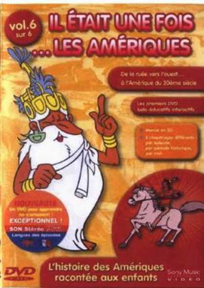 French DVDs - Once Upon A Time The Americas Vol 6