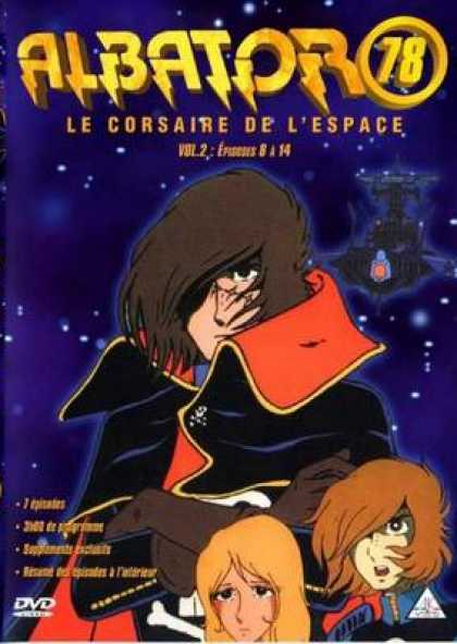 French DVDs - Albator 78 Volume 2
